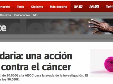 La Bola Solidaria: una acción para luchar contra el cáncer